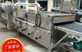 直供多功能气泡清洗机双槽清洗设备304不锈钢果蔬清洗机