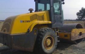 上海騰躍低價出售二手22噸壓路機