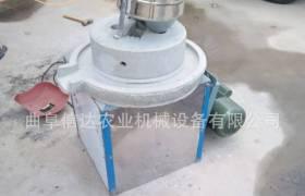 麩皮自動分離的石磨機半自動人工上料玉米磨面機蕎麥面粉專用石