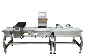 特別定制稱重金屬檢測機重檢金屬探測一體機