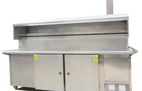 無煙燒烤車清洗方法