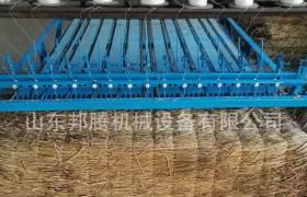 苗圃花卉專用草簾編織機2米水稻桿電動草氈子機全自動設備